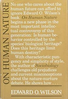 On_Human_Nature,_first_edition.jpg